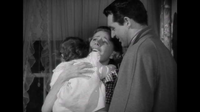 1941 A family ( Cary Grant & Irene Dunne), and their baby, are reunited