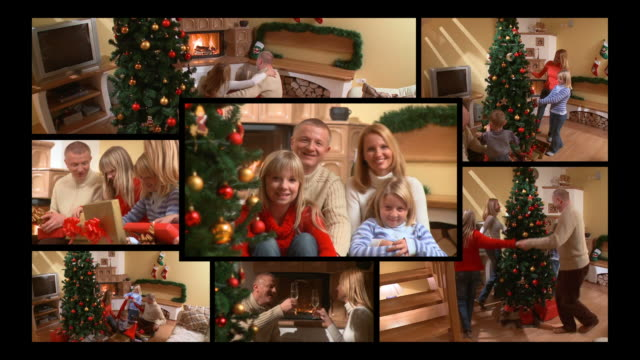 HD MONTAGE: Family At Christmas