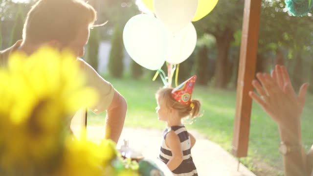 family backyard party - formal garden party stock videos & royalty-free footage