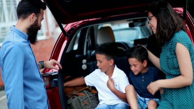 family bonding - adventure stock videos & royalty-free footage