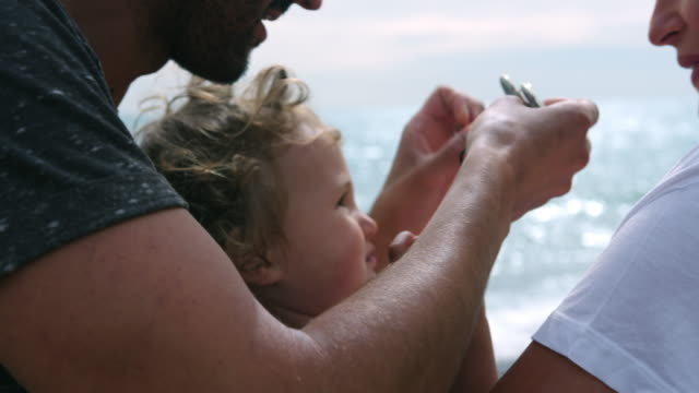 family by sea - sussex stock videos and b-roll footage