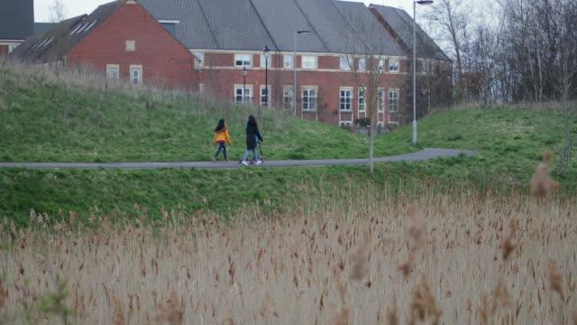 家族通勤 - 注意欠陥過活動性障害点の映像素材/bロール