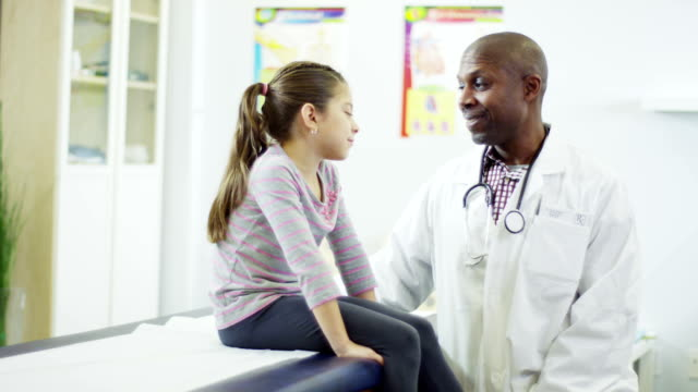 family doctor - paediatrician stock videos & royalty-free footage