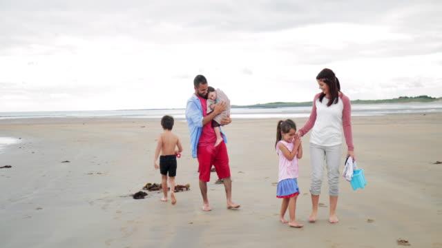 Family Fun On The Beach