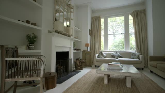 Family home interior.