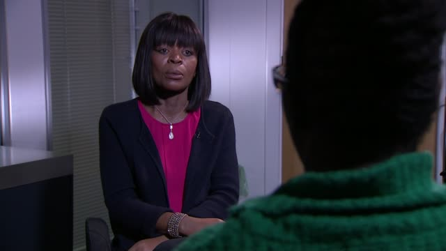 Family of girl whose death was linked to air pollution apply for new inquest ENGLAND London INT Rosamund AdooKissiDebrah interview SOT