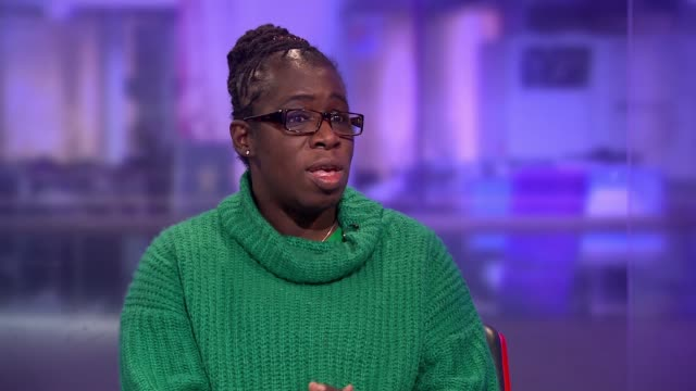 Family of girl whose death was linked to air pollution apply for new inquest ENGLAND London GIR INT Rosamund KissiDebrah LIVE STUDIO interview SOT