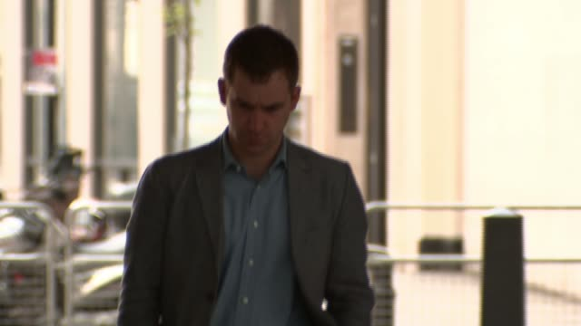Family of Jo Cox stand by her husband Brendan over assault allegations R210517002 / 2152017 London BBC Broadcasting House EXT Brendan Cox arriving
