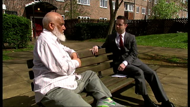 family of last british man in guantanamo bay speak of the toll on their lives england london saaed siddique interview sot cutaways reporter and... - shaker aamer stock videos & royalty-free footage