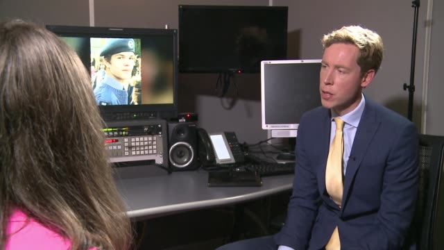 family of murder victim breck bednar say snapchat is not doing enough to tackle online abuse england london int lorin lafave interview alongside... - スナップチャット点の映像素材/bロール