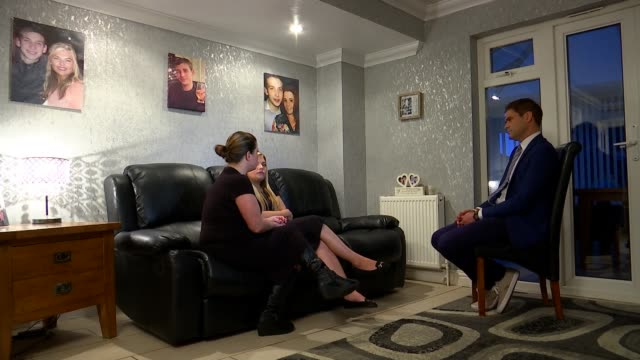 Family of Stephen Port victim criticize inquest delay London INT Donna Taylor and Jen Taylor interview SOT CUTAWAYS reporter
