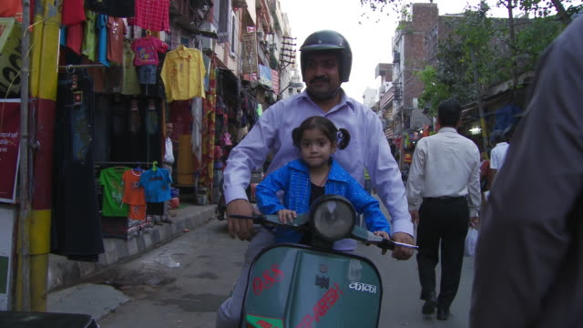 family on motorcycle - moped stock videos and b-roll footage