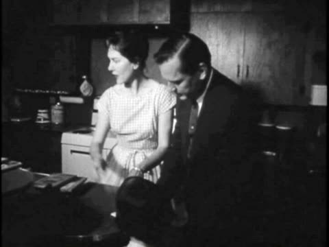 family prepares for nuclear attack - nuclear fallout stock videos and b-roll footage