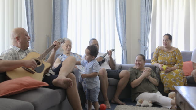 family time is my favourite - pacific islanders stock videos & royalty-free footage