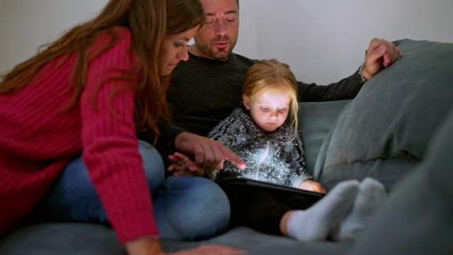 family time - candid stock videos & royalty-free footage