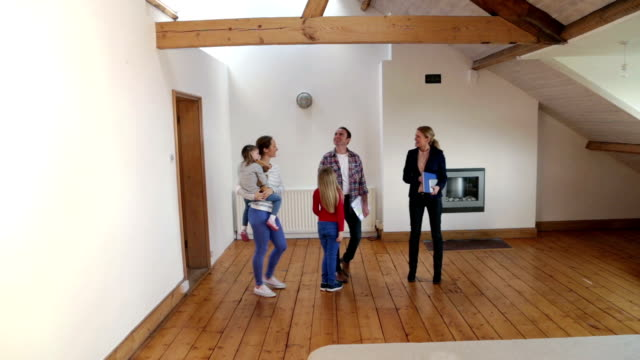 Family Viewing New Home