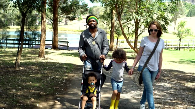 family visited an organic farm - dreadlocks stock videos & royalty-free footage