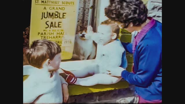 family with children looks in the shop window - road trip stock videos & royalty-free footage