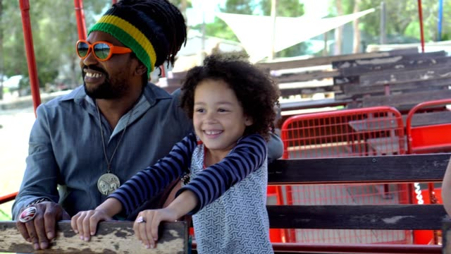 a family with two children visited an organic farm - locs hairstyle stock videos & royalty-free footage