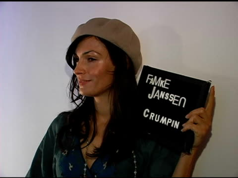 stockvideo's en b-roll-footage met famke janssen publicist approval required at the 2007 sundance film festival jane house sundance event at jane house in park city utah on january 20... - publiciteitsmedewerker