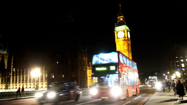 HD: Famous Big Ben At Night