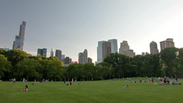 有名なセントラルパーク、ニューヨーク,米国 - マンハッタン セントラルパーク点の映像素材/bロール