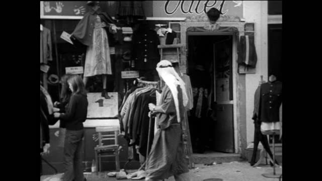 zo famous clothing store in carnaby street; 1967 - offbeat stock videos & royalty-free footage