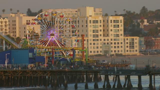 Famous Pier In Santa Monica California