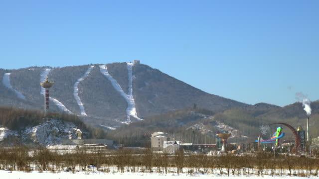 Famous place in winter seasonYaBuLiHeiLongJiangChina