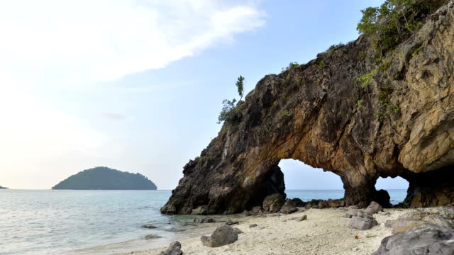 famous rock formations, koh khai, andaman sea, thailand - number 12 stock videos and b-roll footage