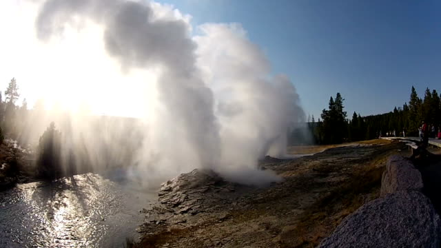 fan and mortar geysers - national landmark stock videos & royalty-free footage