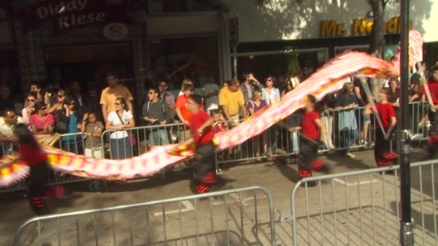 fanfare at the 'The Karate Kid' Premiere at Westwood CA