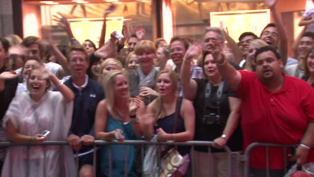 fans at the 64th Annual Tony Awards at New York NY