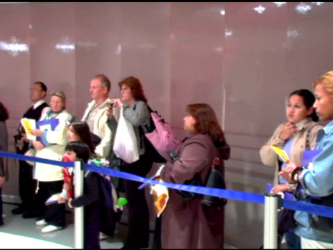 Fans at the Book Signing of Gloria Estefan's New Children's Book at Toys R Us Times Square in New York New York on October 12 2005