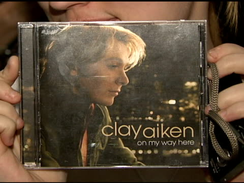 Fans at the Clay Aiken Signs Copies of His New Album 'On My Way Here' at Virgin Megastore in New York New York on May 6 2008