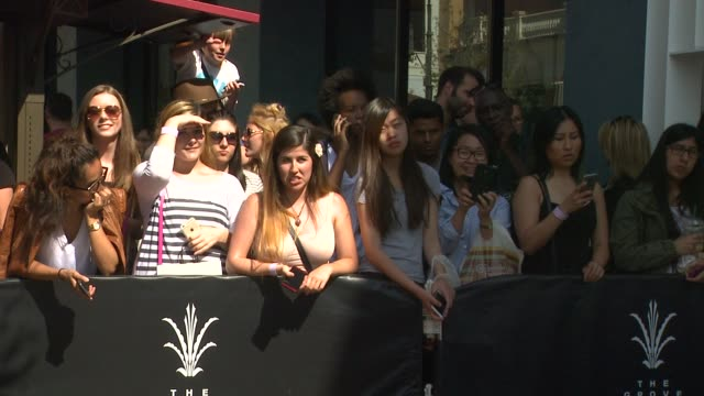 atmosphere fans at the kendall kylie fashion line launch party at topshop on june 03 2015 in los angeles california - fashion collection stock videos & royalty-free footage