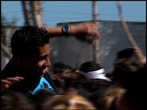 fans at the kroq weenie roast at verizon amphitheater in irvine california on june 23 2001 - kroq weenie roast stock videos & royalty-free footage