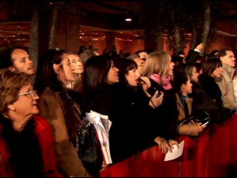 fans at the 'lions for lambs' premiere at the second rome film festival at auditorium in rome on october 23, 2007. - rome film festival stock videos & royalty-free footage