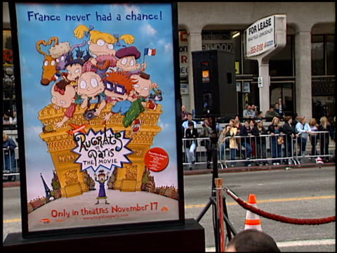 Fans at the 'Rugrats in Paris' Premiere at Grauman's Chinese Theatre in Hollywood California on November 5 2000