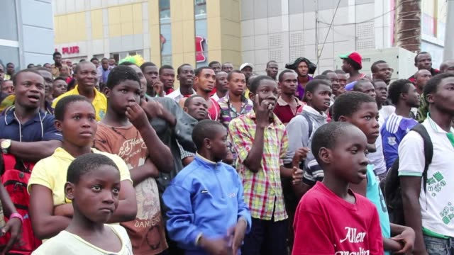 fans in ghana say they were heartbroken as their national football side lost 2-1 to portugal to finish bottom of group g and make an early world cup... - national team stock videos & royalty-free footage