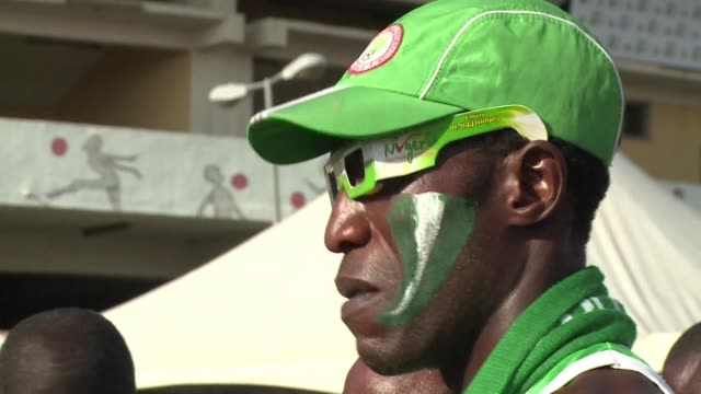 Fans in Lagos looked on in disbelief as Nigeria were knocked out of the World Cup in a 02 defeat to France