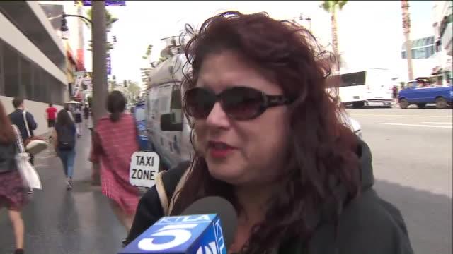KTLA Fans Mourn Tom Petty At Hollywood Walk of Fame