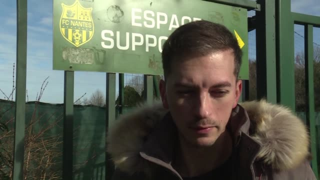 Fans of French Ligue 1 club gathered at the club's La Joneliere training ground on Tuesday following news that an aircraft in which striker Emiliano...