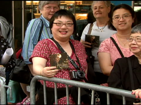 Fans outside of Virgin Megastore at the Clay Aiken Signs Copies of His New Album 'On My Way Here' at Virgin Megastore in New York New York on May 6...