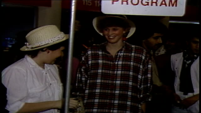 fans purchasing merchandise at a culture club concert - 1996 stock videos & royalty-free footage