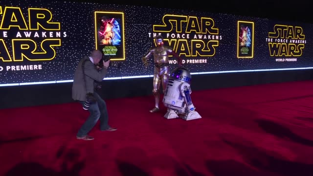 Fans turn out in force for the highly anticipated Hollywood premiere of Star Wars The Force Awakens with excitement at fever pitch as the space epic...
