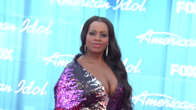fantasia barrino at american idol season 11 grand finale show arrivals on 5/23/12 in los angeles ca - american idol stock videos & royalty-free footage