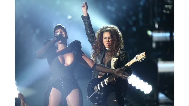 vídeos de stock, filmes e b-roll de fantasia performs onstage at the 2019 bet awards at microsoft theater on june 23 2019 in los angeles california <<enter caption here>> on june 23... - bet awards