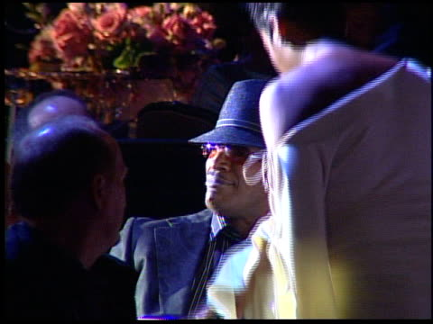 fantasia sings to jamie foxx at the clive davis' pregrammy awards party concert at the beverly hilton in beverly hills california on february 7 2006 - pre party stock videos and b-roll footage