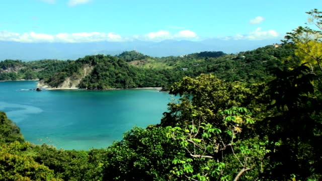 fantastica spiaggia - costa rica video stock e b–roll